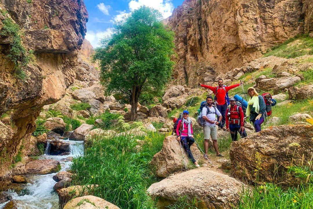 قله میشینه مرگ | عاشقان طبیعت ایران | قله میشینه مرگ در روستای لزور