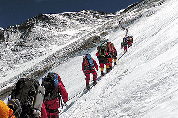 اهمیت رنگ در کوهنوردی | عاشقان طبیعت ایران