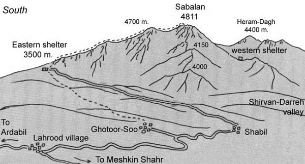 قله سبلان | عاشقان طبیعت ایران | آتشفشان خاموش | صعود به قله سبلان | سلطان ساوالان