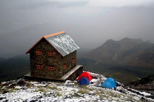 کوهنوردی در زمستان
