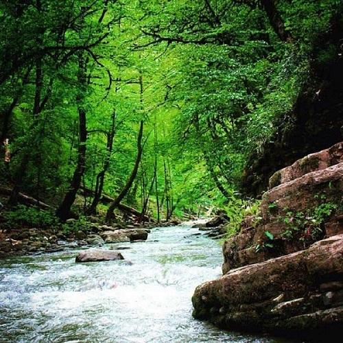 آبشار ویسادار | عاشقان طبیعت ایران | آبشار ویسادار سومین آبشار بزرگ استان گیلان میباشد