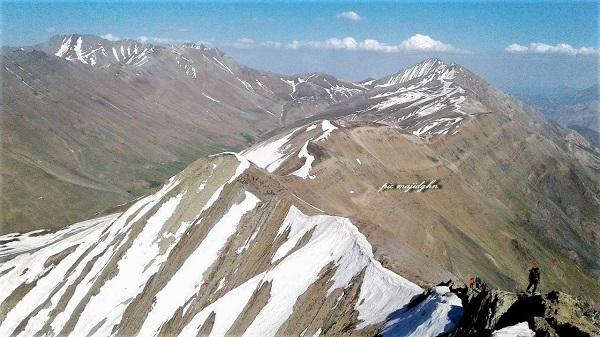 خط الرأس شرقی سرکچال | عاشقان طبیعت ایران | خط الرأس سرکچال به کلون بستک