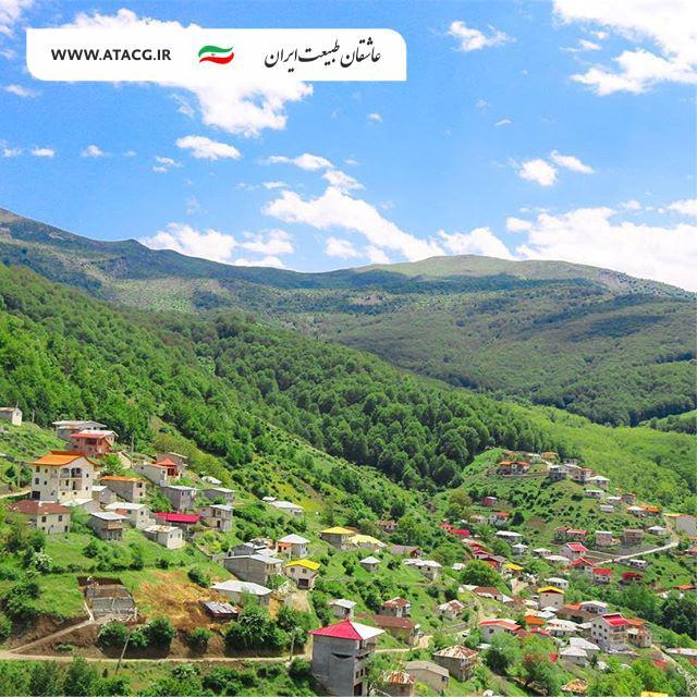 روستای کمرپشت | عاشقان طبیعت ایران | روستای کمرپشت سوادکوه