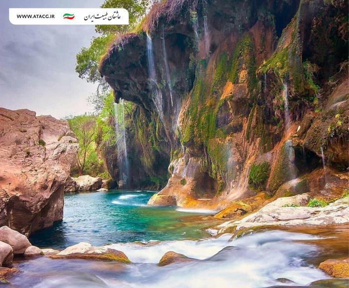 تنگ براق | عاشقان طبیعت ایران | تنگ براق اقلید فارس آثار طبیعی ملی ایران