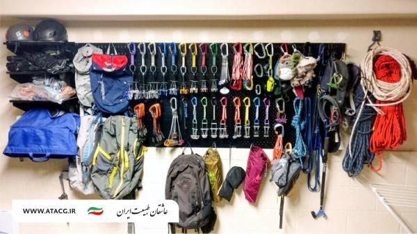 لوازم غارنوردی | عاشقان طبیعت ایران | آشنایی با تجهیزات و لوازم غارنوردی