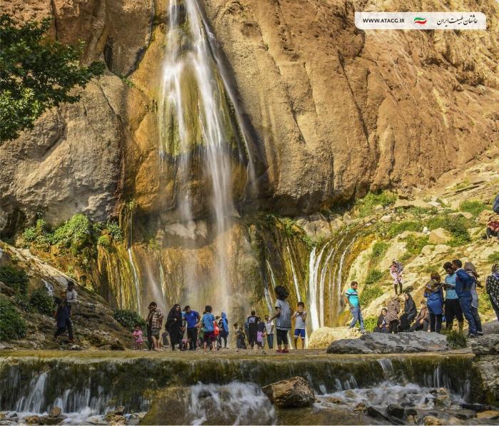آبشار سمیرم | عاشقان طبیعت ایران | آبشار سمیرم اصفهان