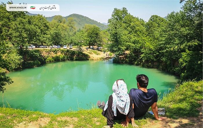 گل رامیان | عاشقان طبیعت ایران | چشمه گل رامیان گلستان
