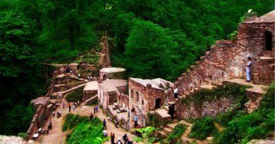 قلعه رودخان | عاشقان طبیعت ایران | قلعه رودخان بزرگترین قلعه آجری ایران