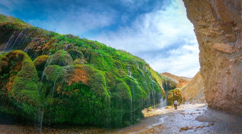 آبشار آسیاب خرابه | عاشقان طبیعت ایران | آسیاب خرابه جلفا