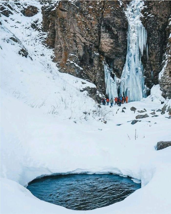 آبشار کرکری | عاشقان طبیعت ایران | آبشار کرکری مشگین شهر | آبشار گورگور
