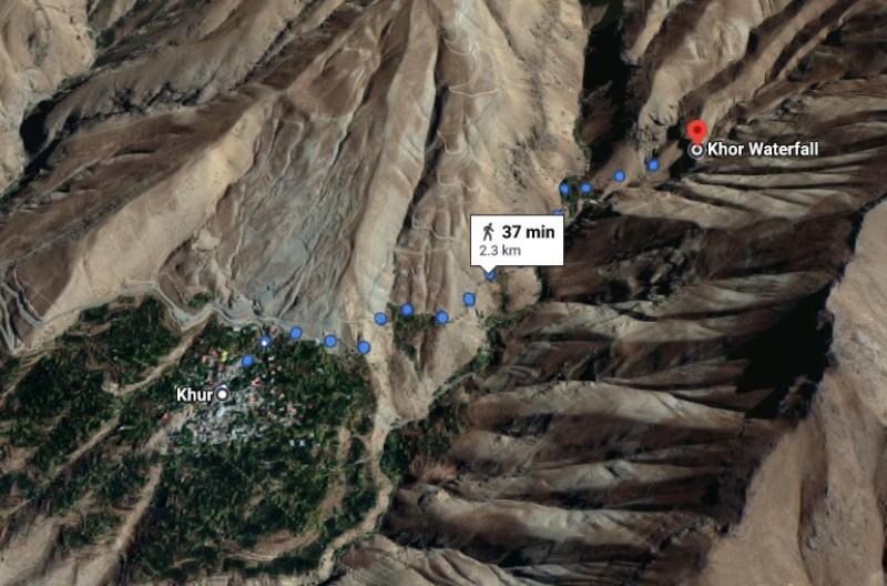 آبشار خور | عاشقان طبیعت ایران | فرود از آبشار خور | پیست اسکی خور