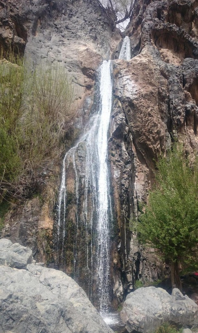 آبشارهای ایران | عاشقان طبیعت ایران | طبقهبندی آبشارها | انواع آبشار