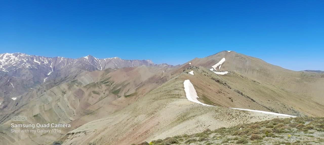 قله سینه زا | عاشقان طبیعت ایران | صعود به قله سینه زا از دشت لار