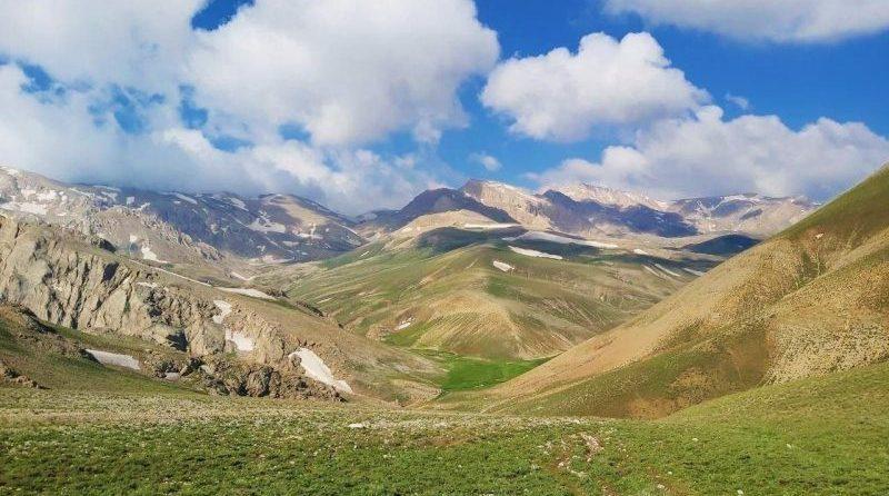 خط الرأس دوخواهران   عاشقان طبیعت ایران   صعود به قلل دوخواهران