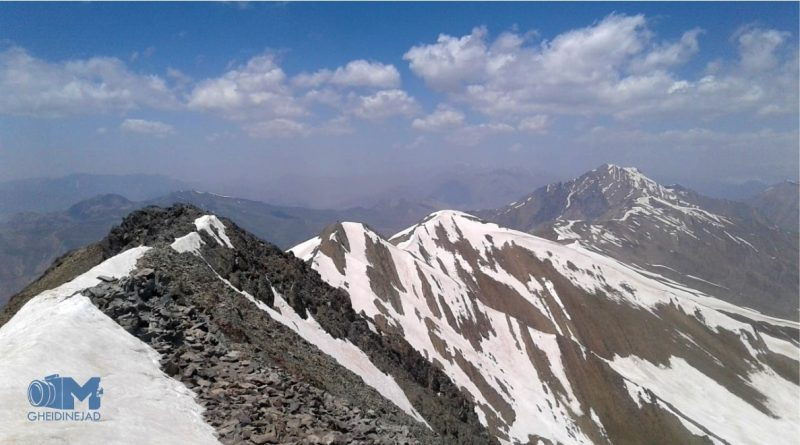 قلل سرکچال   عاشقان طبیعت ایران   صعود به قله سرکچال   ترک قله سرکچال